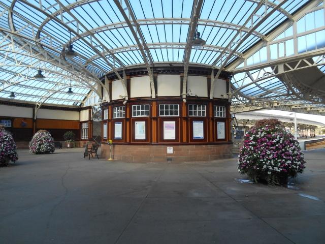 Wemyss Bay station interior