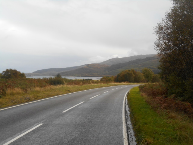 A849 near Scallastle Bay