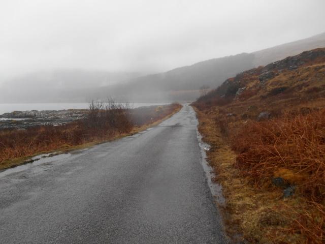 B8035 by Loch Scridain