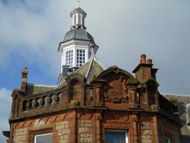 Arms of Campbeltown on the Library & Museum