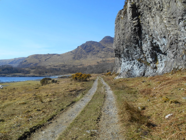 Path heading out of Lochbuie