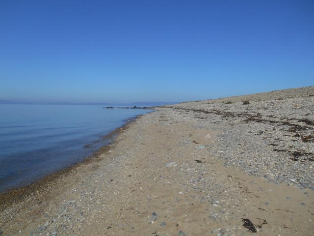 Beach approaching Cleiteadh Dubh.