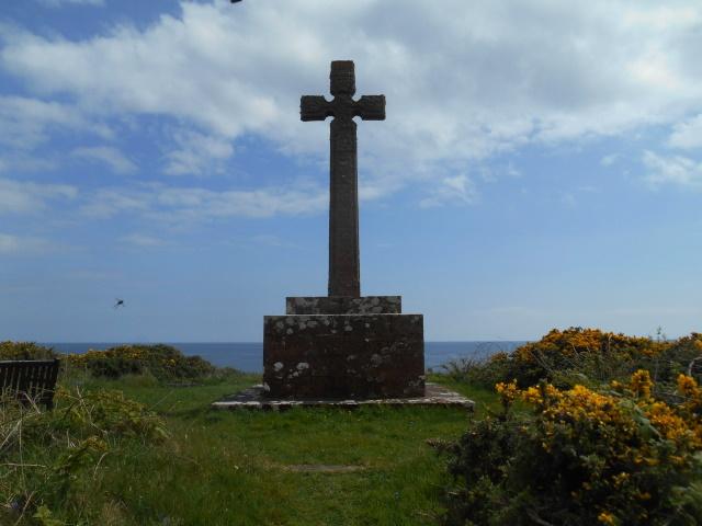 George Campbell memorial cross