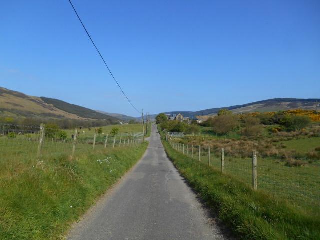 Road up Glen Breakerie