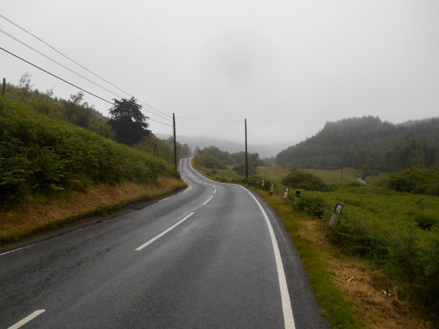 Road up Glen Gallain