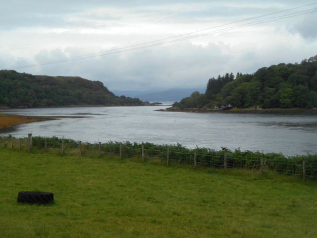View towards the mouth of Loch Feochan