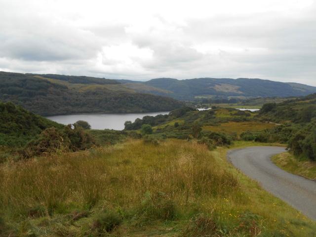 Loch Nellf rom the pass