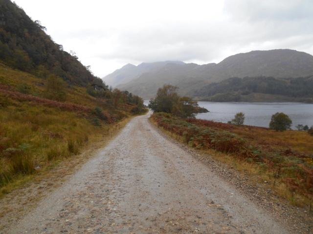 Track beside Loch Shiel