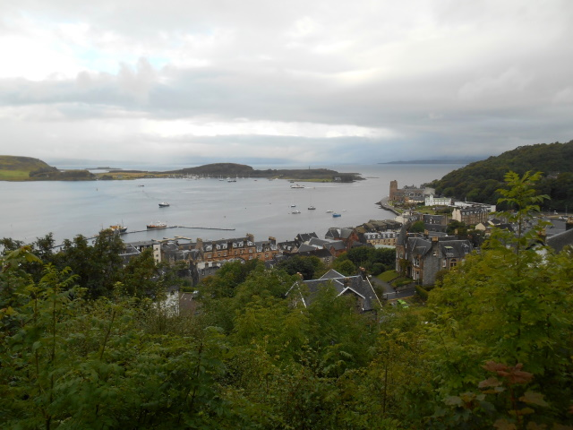 Oban from the old battery