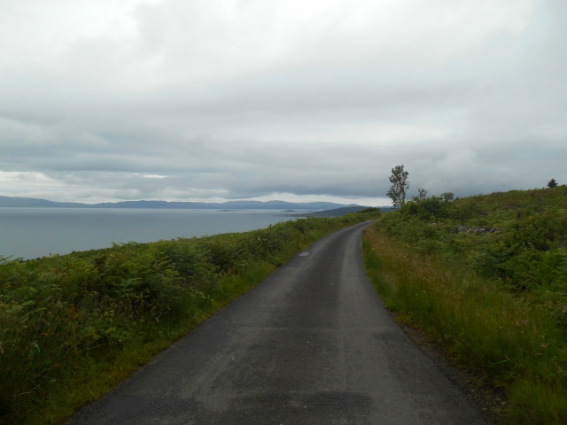 View ahead to Point of Knap and Jura