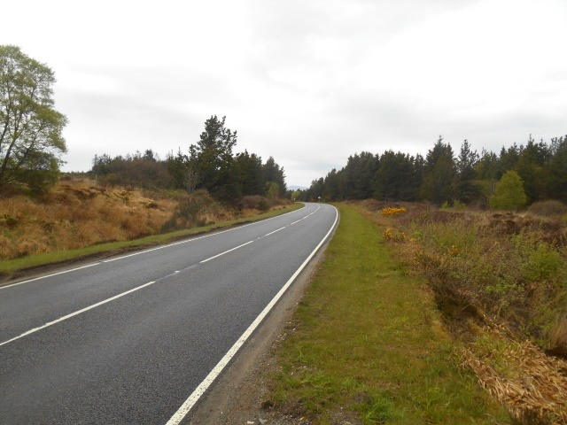 A87 between Kyleakin and Broadford