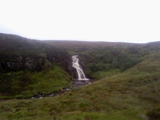 Allt Leacach waterfall
