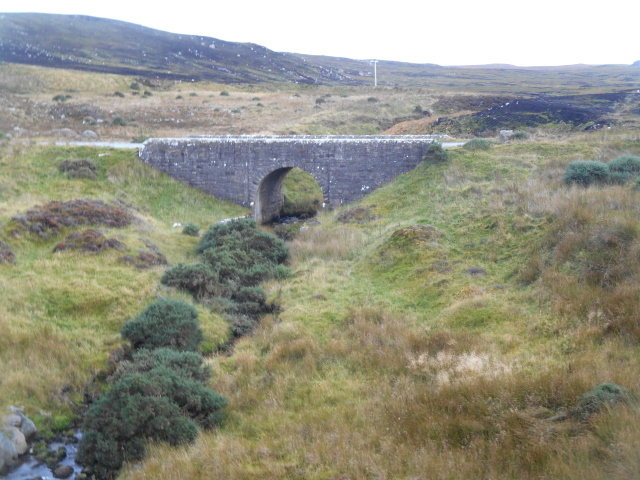 Allt na Clèite old bridge