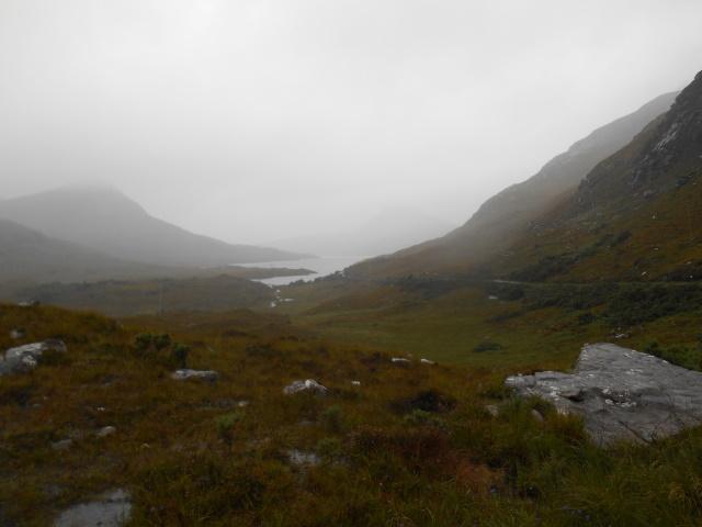 Approaching Loch Lurgainn
