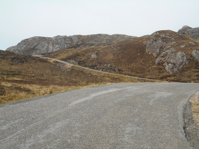 Ascent to the pass
