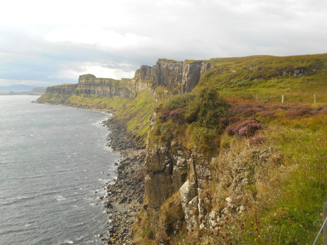 Cliffs south of Mealt Falls