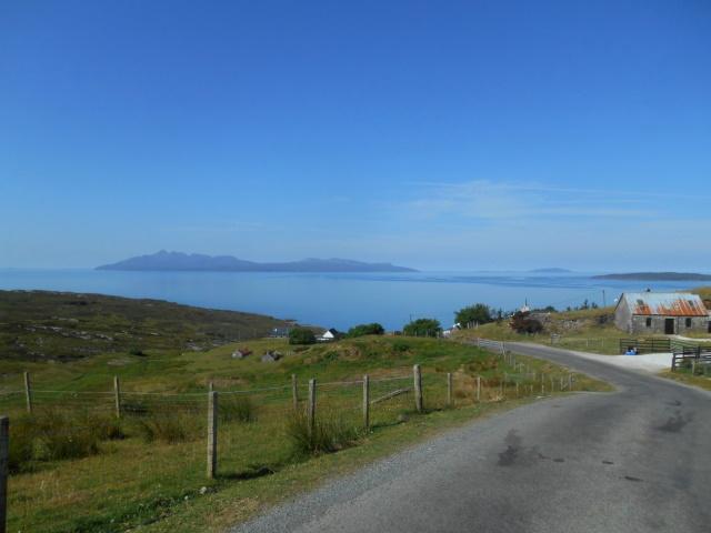 Isle of Rùm seen from Elgol