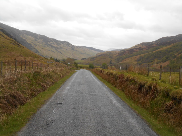 Old Military Road through Glen More