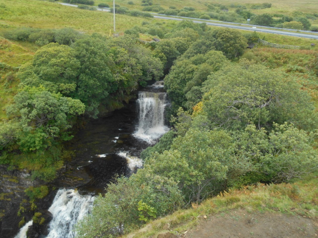 Waterfalls at Inver Tote