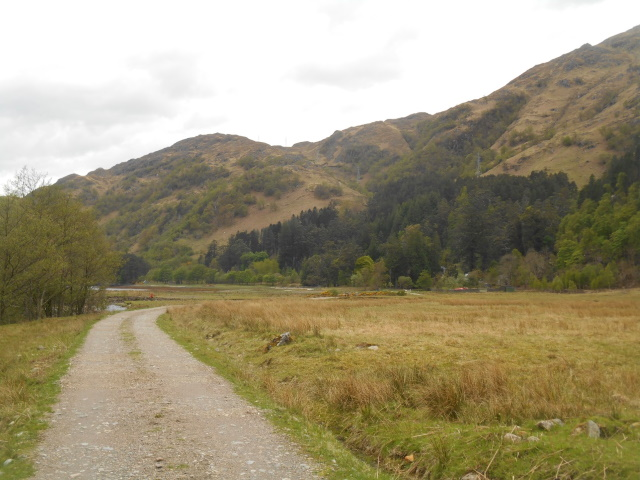 The ascent out of kinlochhourn