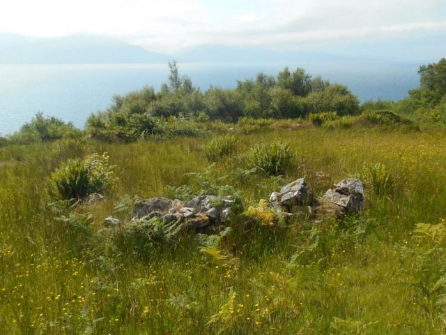 Ruins at Leitir Fura