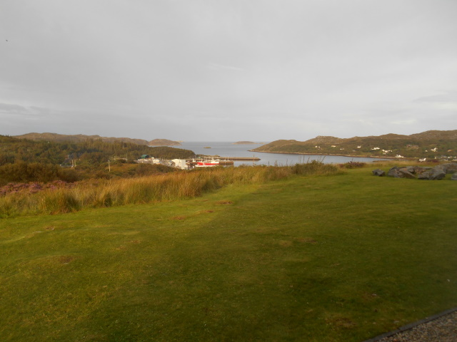 Loch Inver from Inver Lodge Hotel