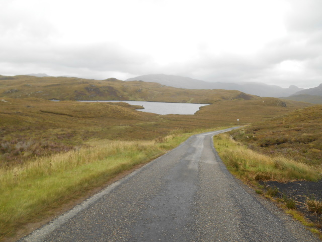 Road past Loch Unapool