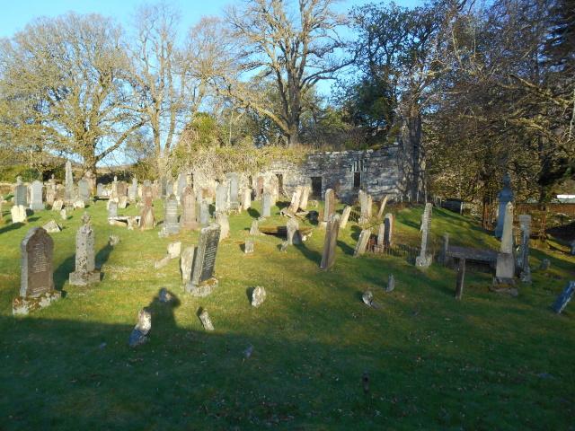 Locharron old old church