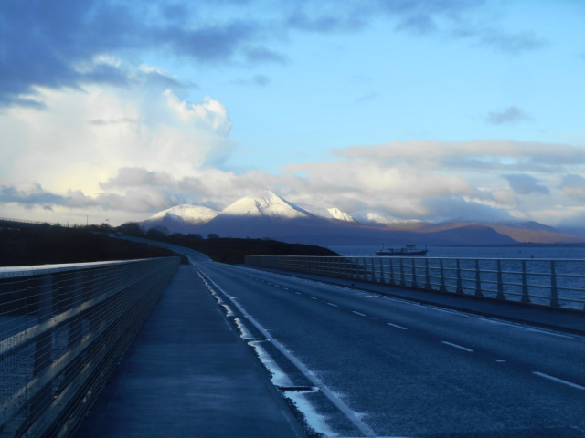 Skye from the bridge