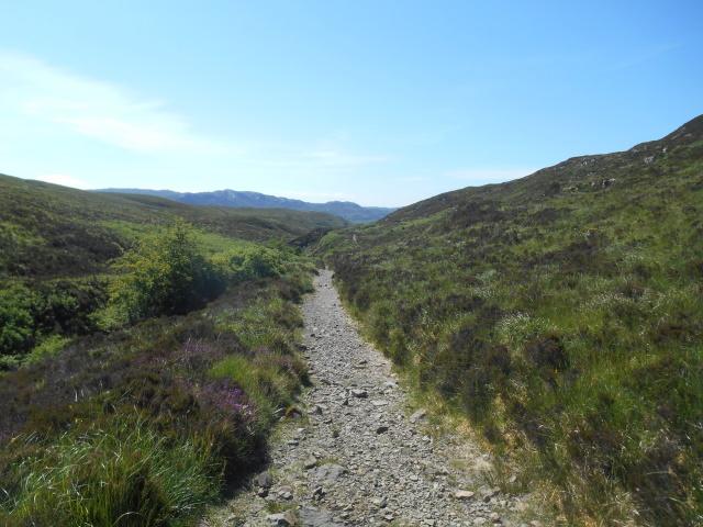 Path beside Allt na Pairte
