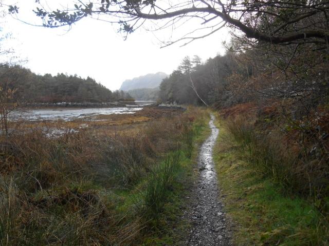 Path by Loch Carron