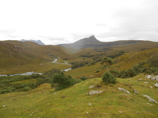 Stac Pollaidh and River Polly