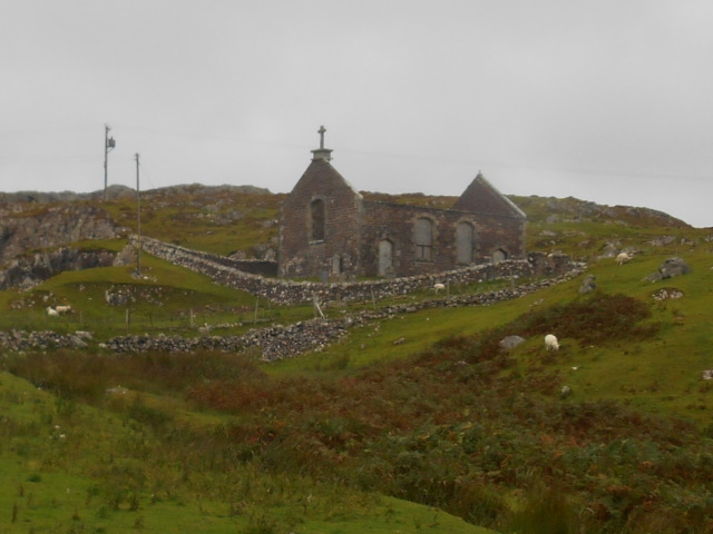 Stoer church ruins