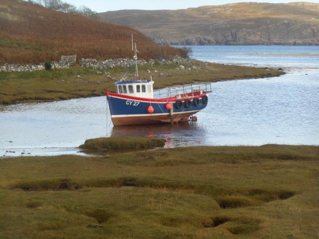 Fishing boat CY27 'Treryn Castle'