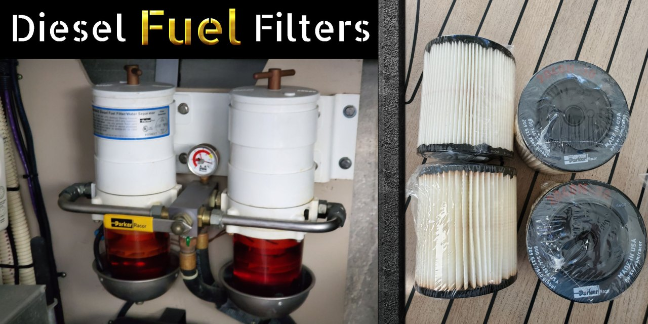 Which Diesel Engine Fuel Filters should I use? 10 micron or 30? - Helpful  CaptainHelpful Captain