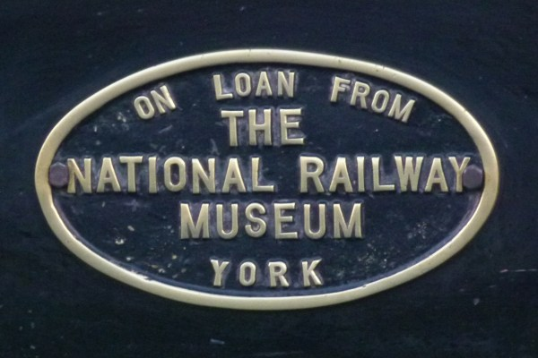 National Railway Museum badge