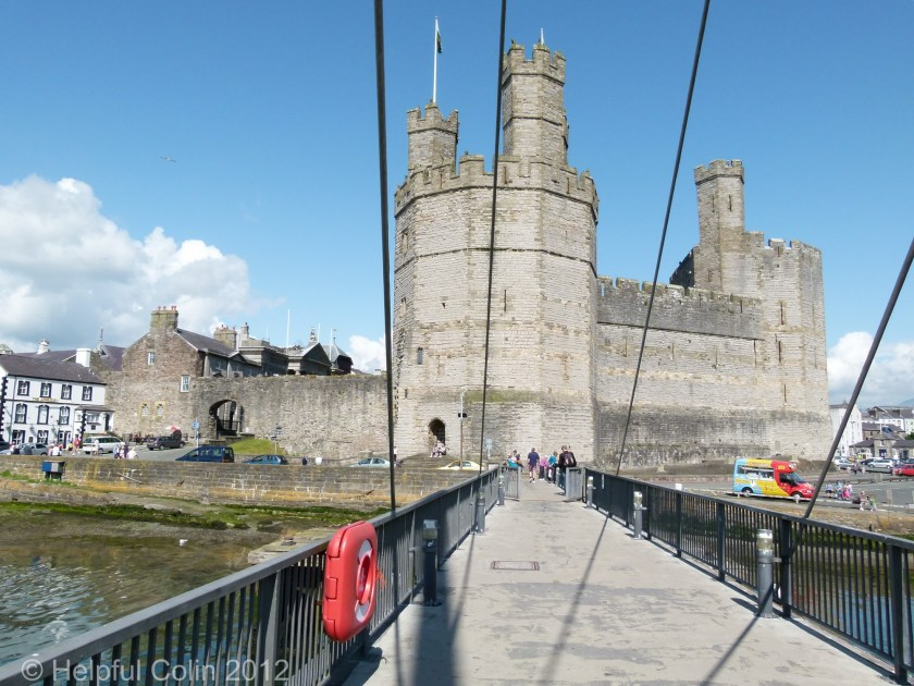 Caernarfon Swing Bridge