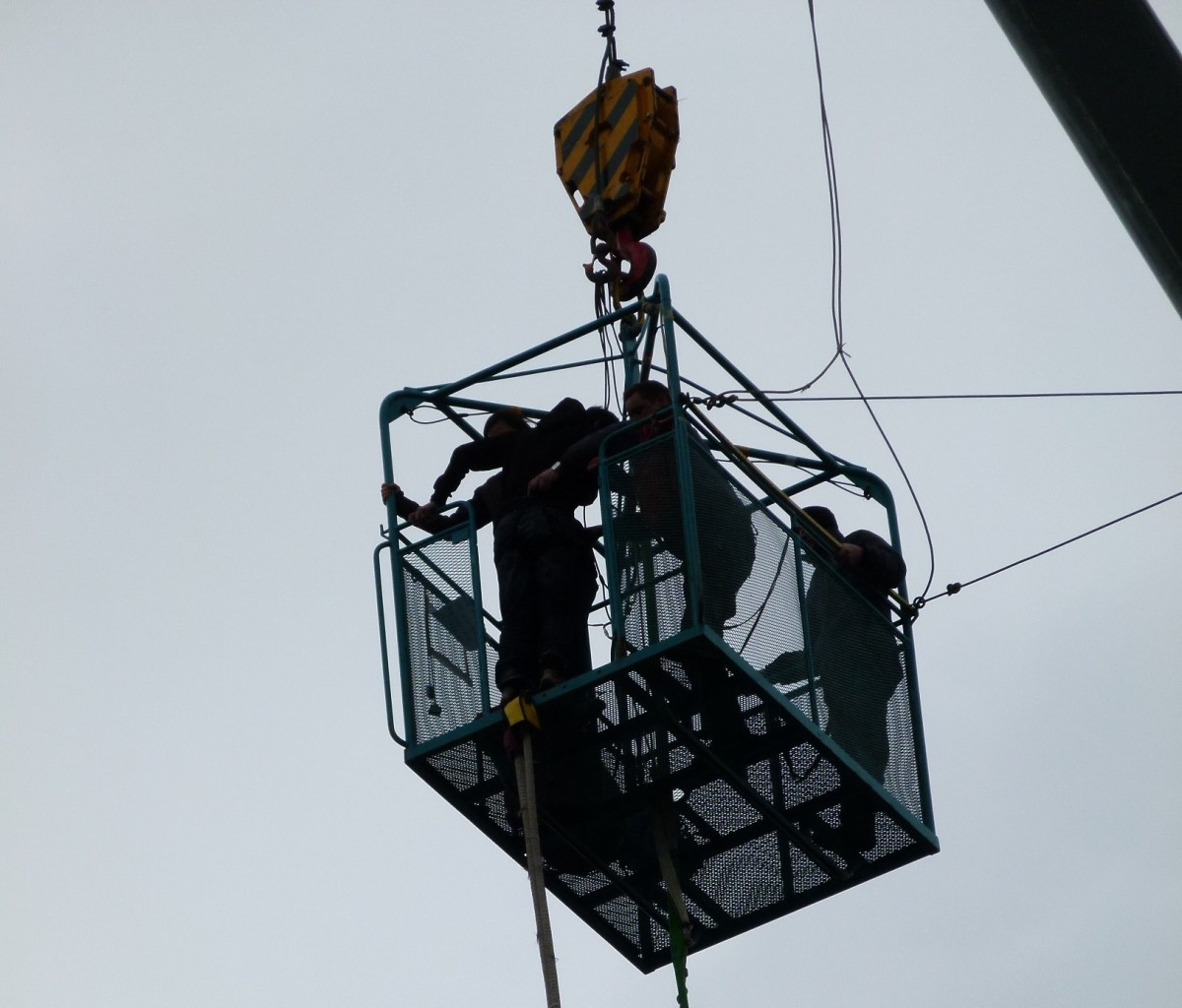 Durham Cathedral Bungee Jumping