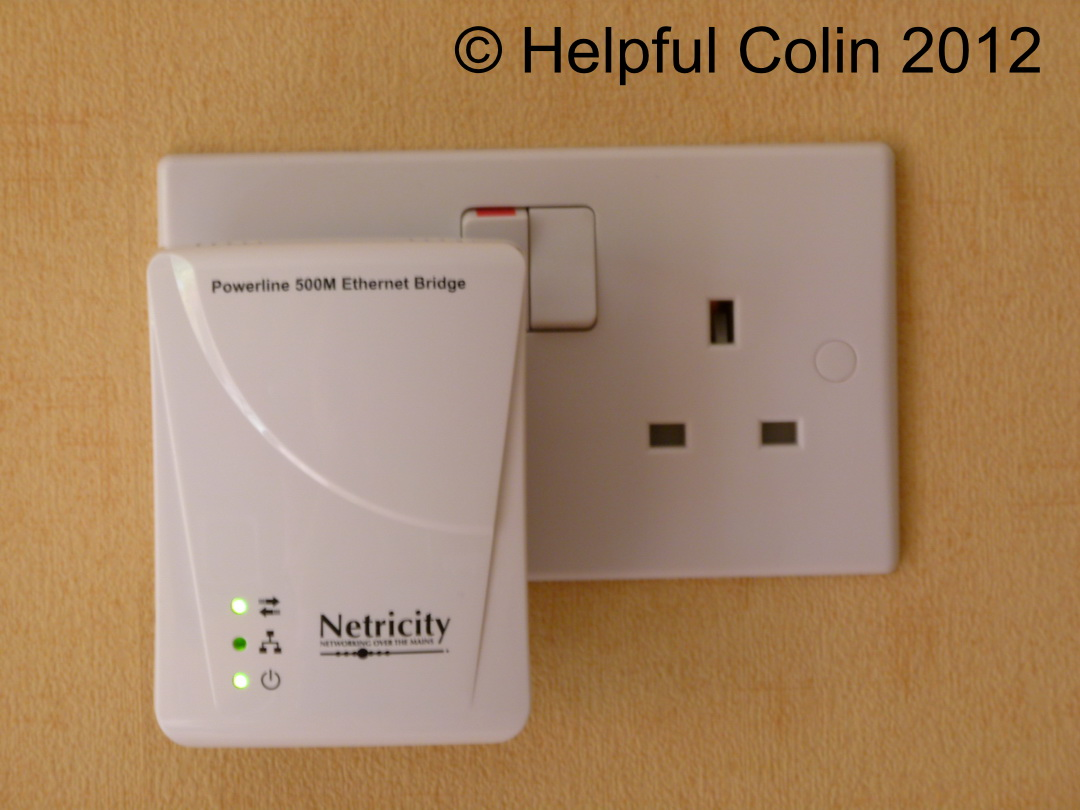 Netricity Powerline 500M Ethernet Bridge Adapter Failed After 13 Months