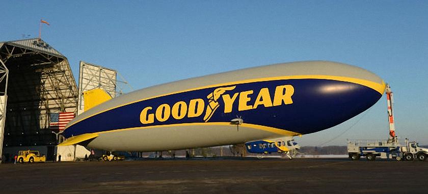 Airlander Airship v Goodyear Airship