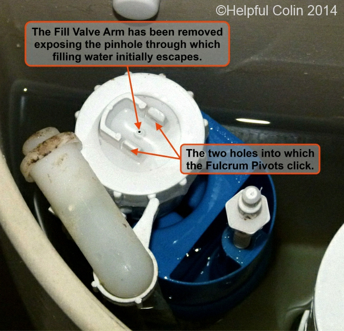 Repairing A Toilet Silent Fill Valve Helpful Colin
