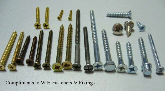 Wood Screws and Bolts