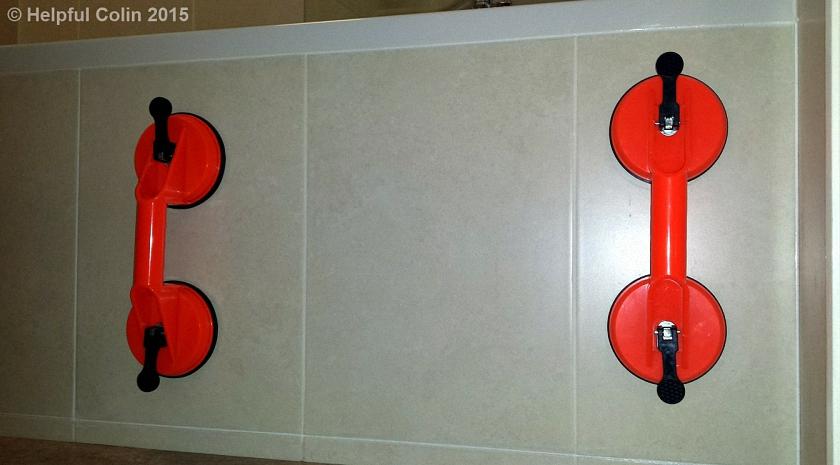 Tiled Bath Panel Construction