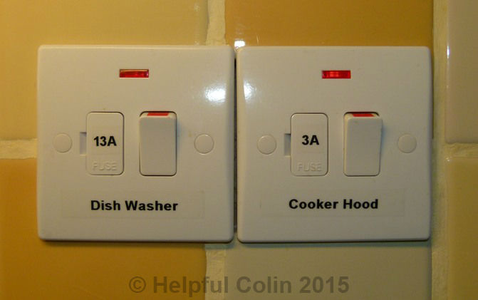 Kitchen Appliance Connection Points - Helpful Colin