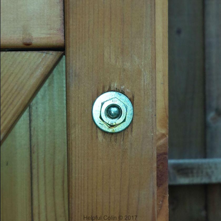 Inside Door - Securing Shed Doors