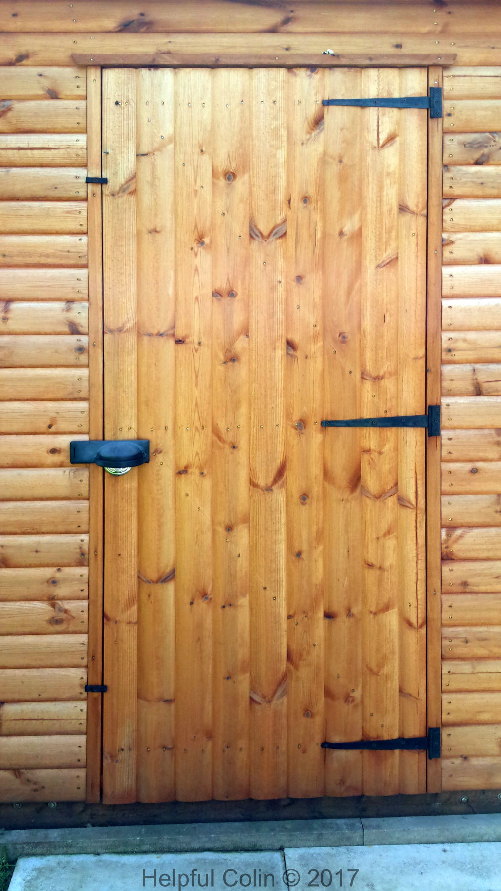 Securing Shed Doors
