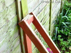 broken timber fence posts