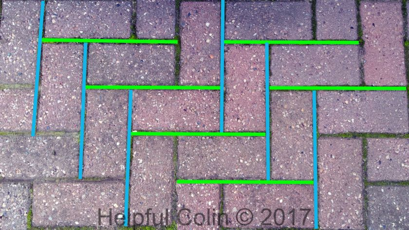 block paving moss