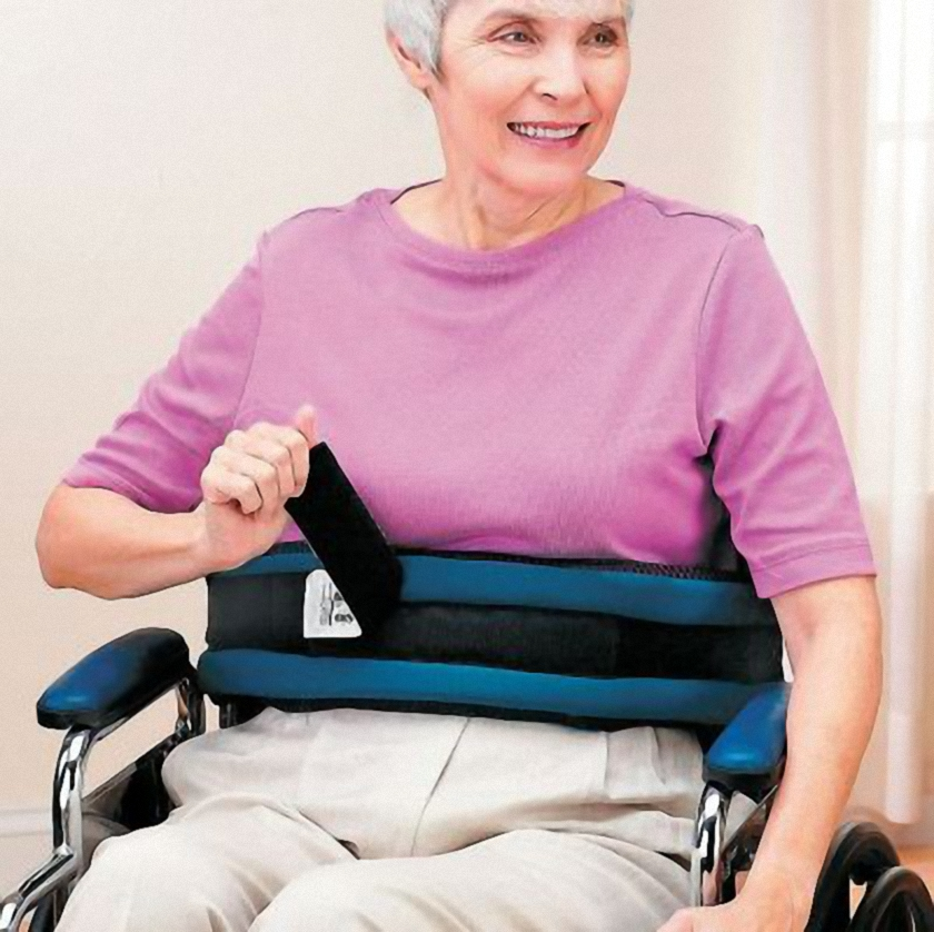 Padded Wheelchair Seatbelt