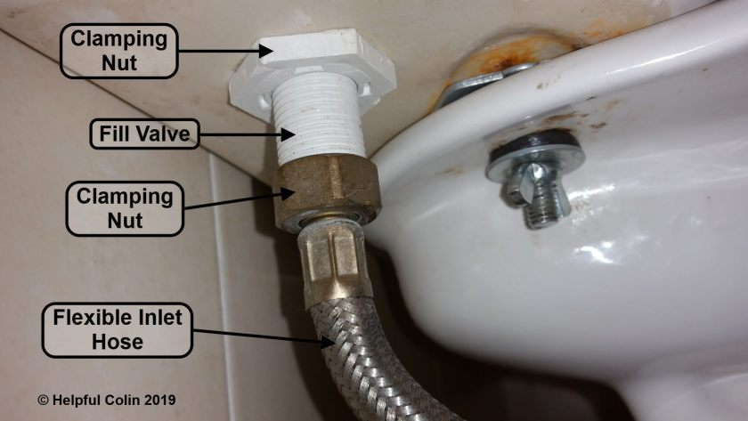 Inlet Valve Connection